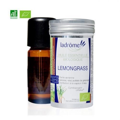 Huile essentielle bio Lemongrass 10ml