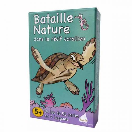 Bataille Nature dans le récif corallien