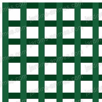 Treillage maille carrée 3cm 1mX2m