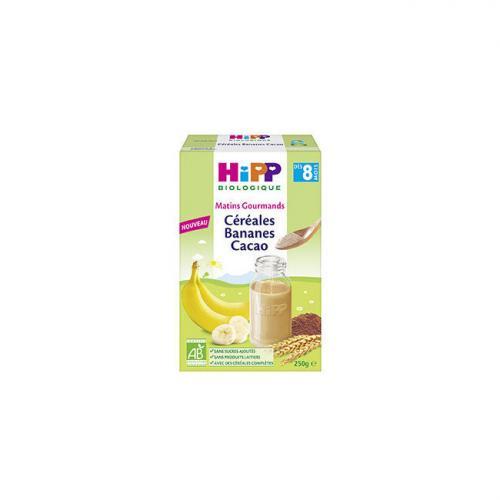 Céréales Hipp Banane et Cacao sans gluten