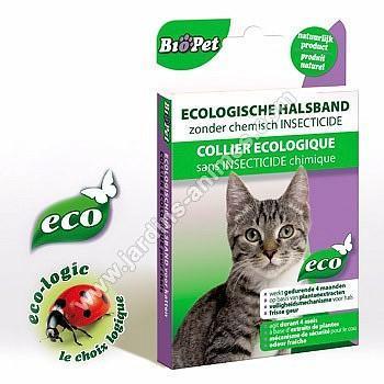 Collier Antiparasite Chat écologique
