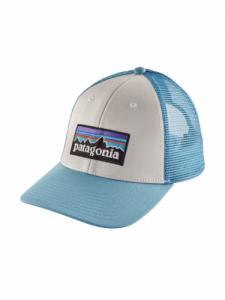 Logo lopro trucker - White W/ Break up blue - Patagonia