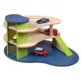 Garage en bois 3 niveaux