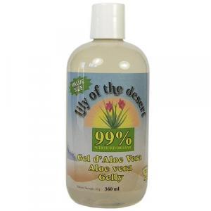 Gel d'aloe vera 99% 360 ml