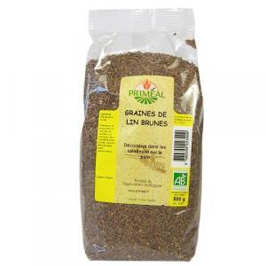 Graines de lin brunes 500 g