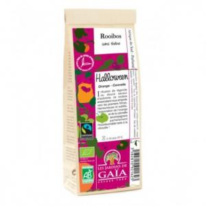 Thé rouge bio cannelle orange Rooibos Halloween