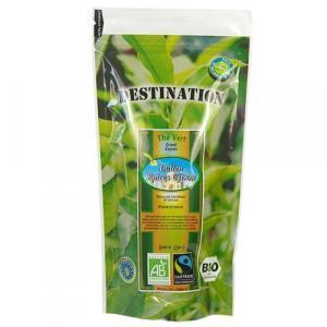 Thé vert bio Indien Epices citron 100 g