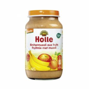 Petits pots de fruits Holle 220g muesli cereales fruits et sesame