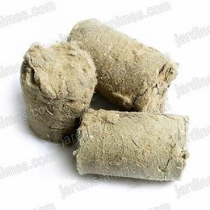 Briquettes de chanvre x3 pour litière lombricomposteur