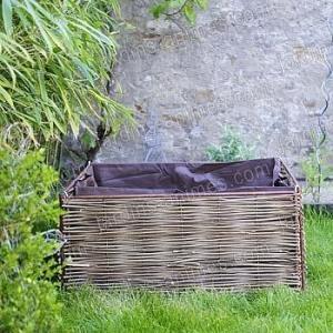 Kit carré potager 90x90x45cm - 4 bordures un sac 4 fixations U