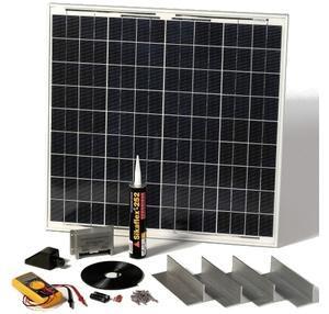 Kit photovoltaique pour caravane - bateau 60 Wc