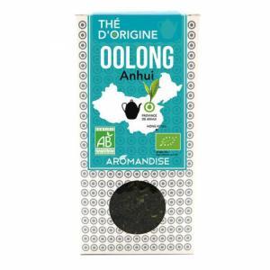 Thé bleu-vert Oolong bio de Chine - Coffret Thé d'Origine 70g