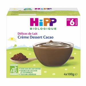Compotes avec morceaux fondants HiPP Pommes Poires
