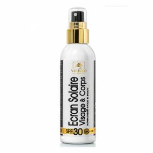 Crème solaire bio Indice 30 Haute Protection 100ml