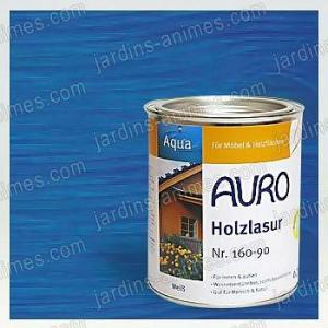 Lasure Bois Aqua Bleu d'Outremer 0.75L Auro 160-55
