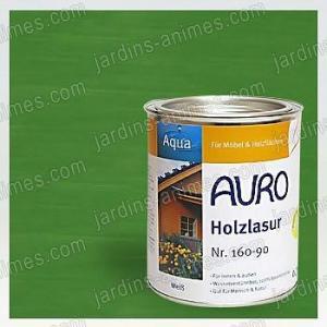 Lasure Bois Aqua Vert Oxyde 0.75L Auro 160-60