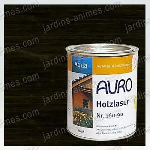 Lasure Bois Aqua Noir 0.75L Auro 160-99
