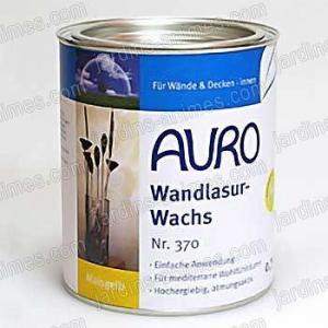 Cire à lasurer murale incolore 0.75L Auro 370-00