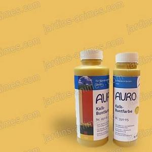 Colorant naturel Jaune à la chaux 0.5L Auro 350-05