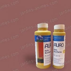 Colorant naturel Rouge Oxydé à la chaux 0.5L Auro 350-45
