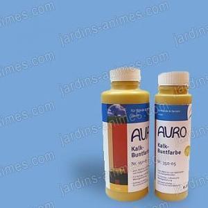 Colorant naturel Bleu Lumière à la chaux 0.5L Auro 350-55