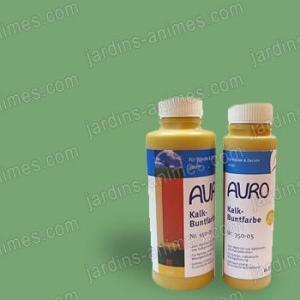 Colorant naturel Vert à la chaux 0.5L Auro 350-65