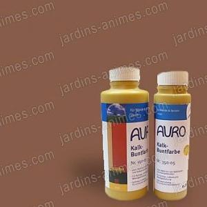 Colorant naturel Brun à la chaux 0.5L Auro 350-85