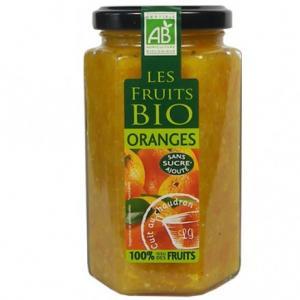 Spécialités d'oranges bio sans sucres ajoutés