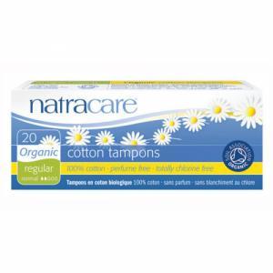Tampons normaux sans applicateur Natracare Boite de 10 tampons
