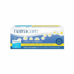 Tampons super sans applicateur Natracare Boite de 10 tampons