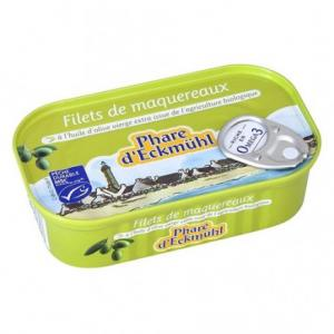 Filets de maquereaux aux olives