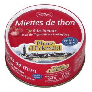 Miette de thon à la tomate