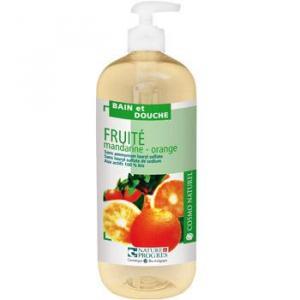 Bain douche fruité Mandarine Orange 1 l
