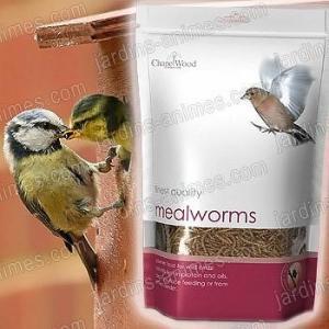 Nourriture vers séchés pour oiseaux 1kg