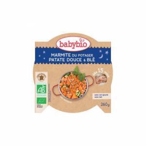 Assiette Bonne Nuit Babybio Marmite du potager Patates douces