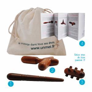 kit accessoires massage thaï