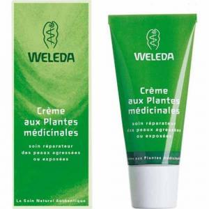 Crème plantes médicinales