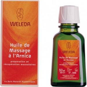 Huile de massage à l'Arnica 50 ml