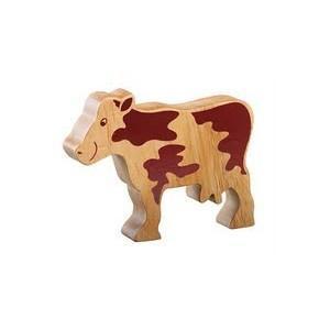 Vache bois massif