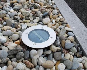 Spot solaire encastrable pour balisage et marquage au sol