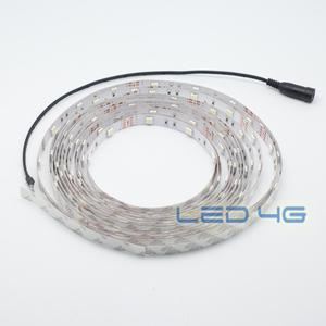 Ruban LED puissant blanc chaud en 1 et 5M