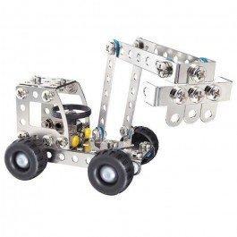 Jeu de construction métallique Pelleteuse-Camion
