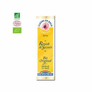 Remède de secours n°40 Fleurs de Bach bio Rescue Spray 20ml