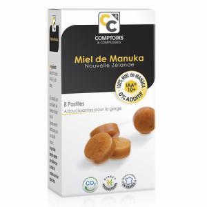 Pastilles 100% Miel de Manuka UMF 10  Boîte de 20g