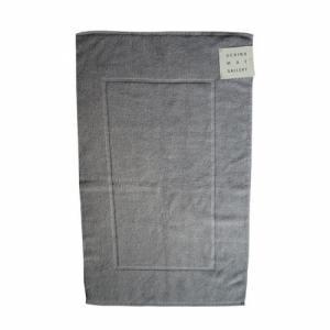 tapis de bain bulky towel - fil 0 torsion doublement peigné