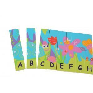 Puzzle alphabet recto-verso boikido