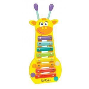 Instrument de musique xylophone girafe boikido