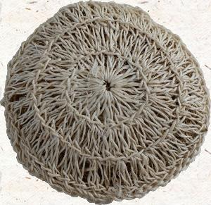 Exfoliant aux racines de vétiver-fibres de sisal