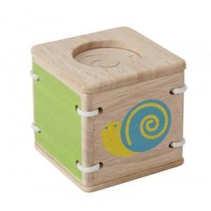 Jouet plantoys hochet sensoriel escargot