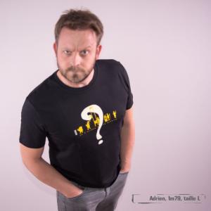 """T-shirt bio équitable DOUALA """"Progrès"""""""